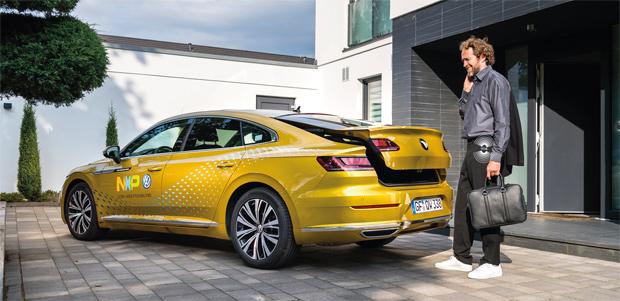 NXP und Volkswagen zeigen die Möglichkeiten der Ultra-Wideband Vernetzungstechnik
