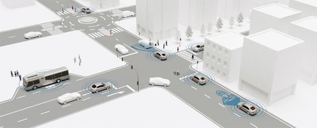 Erforschung automatisierter Fahrfunktionen für den Stadtverkehr