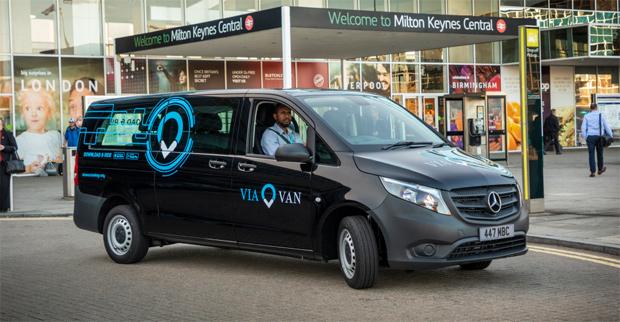 ViaVan nun auch in Milton Keynes verfügbar