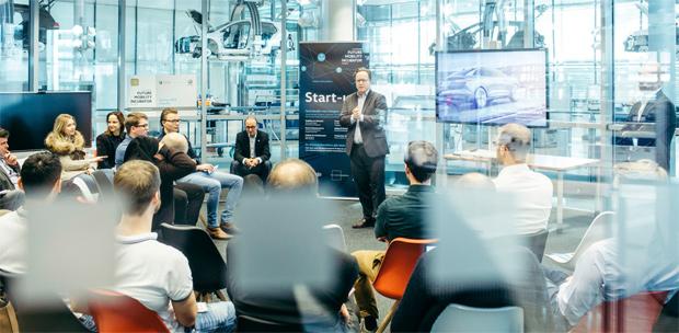 """Volkswagen sucht Startups für seinen """"Future Mobility Incubator"""""""