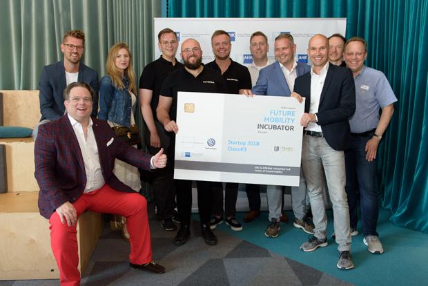Drei neue Startups für das Inkubator-Programm von Volkswagen