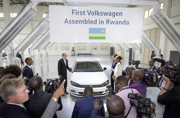 Volkswagen bringt Carsharing nach Ruanda