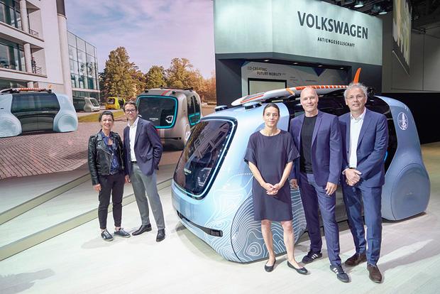 Design-Contest Future Mobility Award von Volkswagen auf der CEBIT