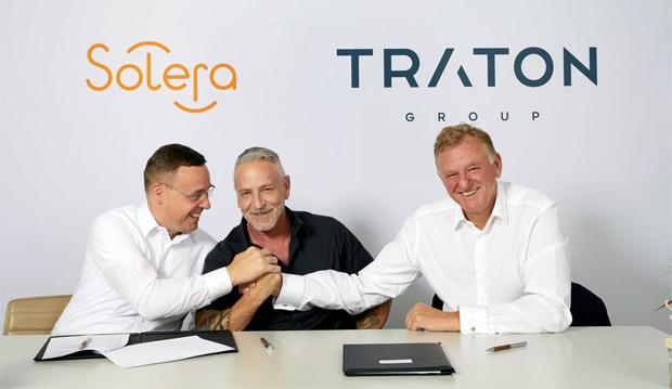 Strategische Partnerschaft zwischen Traton AG und Solera Holdings, Inc.