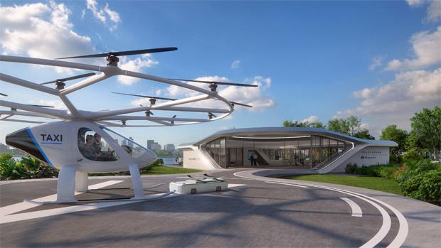 Volocopter unterzeichnet Series C Finanzierungsrunde über 50 Mio. Euro