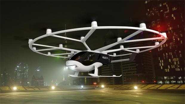 On-demand Flugtaxi für die Innenstadt: Volocopter präsentiert den VoloCity