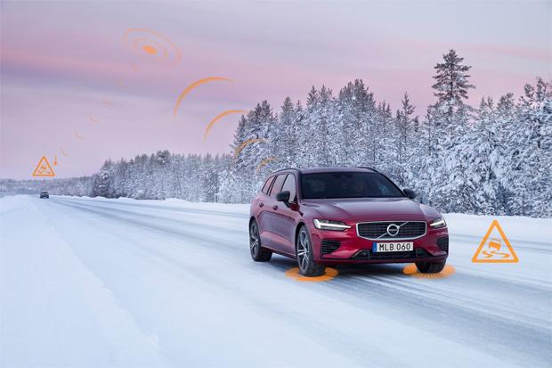 Volvo präsentiert serienmäßige cloud-basierte Sicherheitssysteme