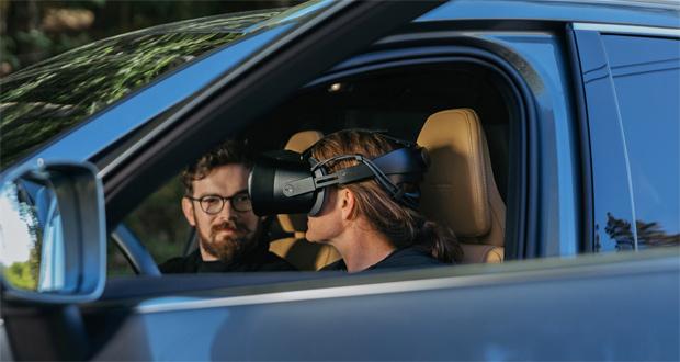 Volvo und Varjo schaffen Mixed-Reality-Ansatz in der Fahrzeugentwicklung