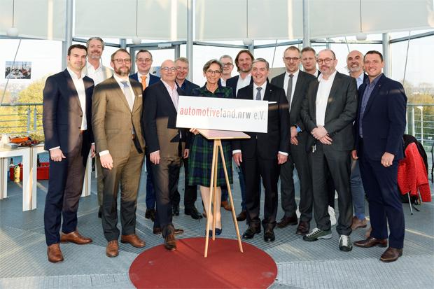 automotiveland.nrw, als Trägerverein, für Clustermanagement in NRW geründet