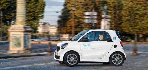 car2go startet in Paris