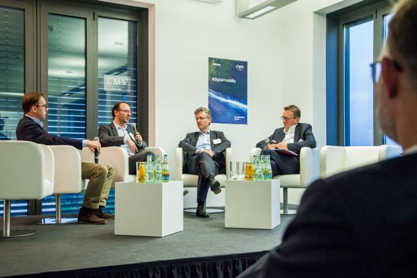 Aleksej Mitrjaschkin – Director Investment Management Porsche SE; Christian Herrmann – Senior Manager M&A Daimler AG; Wolfgang Seibold – Managing Partner AGIC Capital GmbH; Moderator: Dr. Jörg Zätzsch, Managing Partner, CMS Hasche Sigle