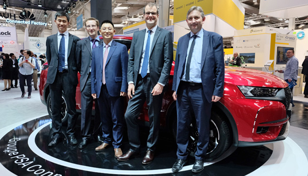 DS 7 CROSSBACK - Vernetztes Fahrzeug von Groupe PSA und Huawei