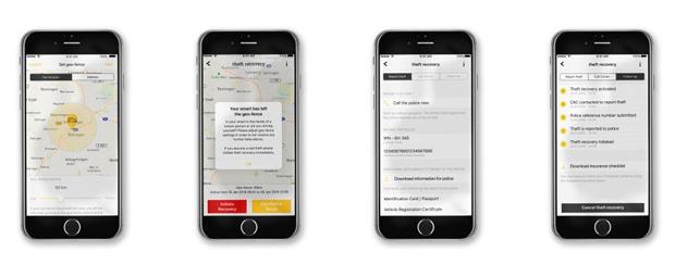 Mit App-basiertem Service gegen Autodiebstähle